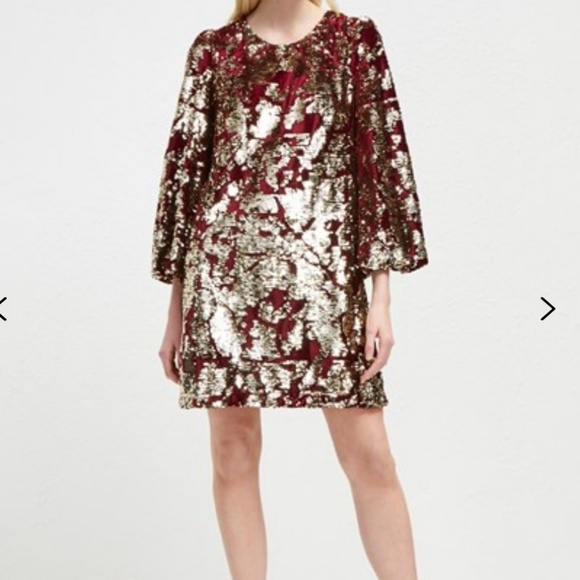 84a7a32adc2 French Connection Dresses   Ethel Sequin Tunic Dress   Poshmark